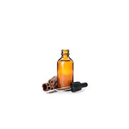 Bottiglietta contagocce in vetro marrone ml 30