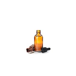 Bottiglietta contagocce in vetro marrone ml 20
