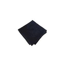Panno multiuso in microfibra nero cm 40x40