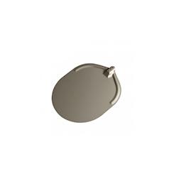 Pala per pizza ovale Stilcasa liscia in alluminio ossidato cm 45