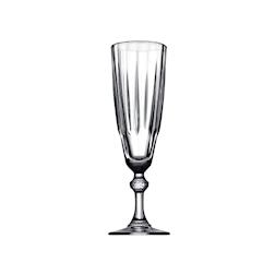 Flute Diamond in vetro trasparente cl 17