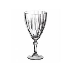 Calice Diamond acqua in vetro cl 30