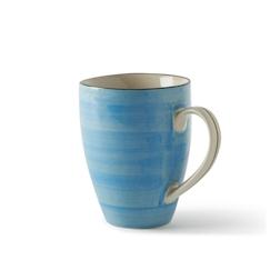 Tazza Althea in porcellana azzurra cl 36