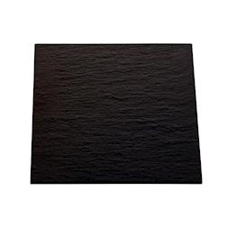 Vassoio Africa in ardesia nero cm 31x31x0,6