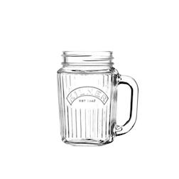 Boccale vintage Jar in vetro cl 40