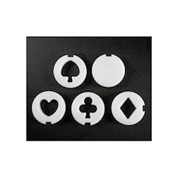 Stampi in 5 forme per condensatore Dry Ice