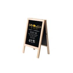Lavagna da tavolo Mini in legno cm 24x15