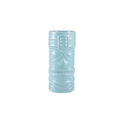 Tiki mug Funky in porcellana azzurra cl 40