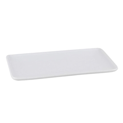 Vassoio Hyatt in porcellana bianca cm 20x11