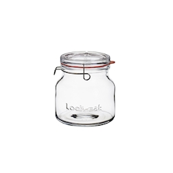 Barattolo Jar Lock-Eat con gancio e guarnizione lt 1,5