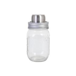 Shaker 3 pezzi mini Country in vetro e acciaio cl 47