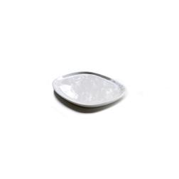 Piattino rettangolare Pebble in porcellana bianca cm 13x9
