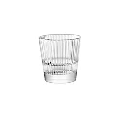 Bicchiere Diva acqua Vidivi in vetro lavorato cl 37