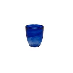 Bicchiere acqua Atlas in vetro blu cl 28