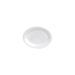 Piatto ovale Joy in polipropilene bianco cm 25x19