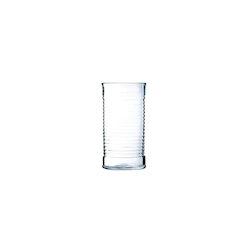 Bicchiere Tomato Be Bop alto in vetro cl 47