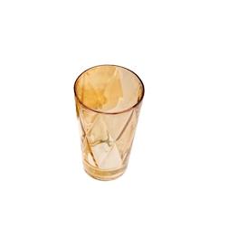 Bicchiere Boston Euforia Ambra in vetro dorato cl 40