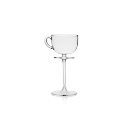 Calice Tea Cup Tail 100% Chef in vetro borosilicato cl 20