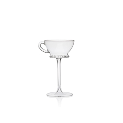 Calice Tea Cup Retro Tail 100% Chef in vetro cl 17