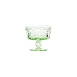 Coppa gelato Lace in vetro verde cl 18,5