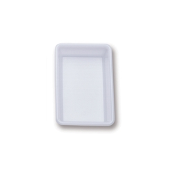 Vaschetta rettangolare Araven in polietilene bianco lt 2