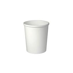 Contenitore Soupe Rond in cartone bianco cl 95
