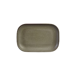 Vassoio rettangolare Stoneware Antigo terra cm 29x19