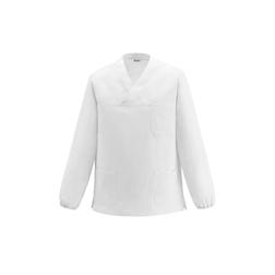 Casacca cuoco Leonardo Egochef 100% cotone bianco taglia XXXL