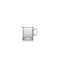 Bicchiere Conserve Moi con manico in vetro cl 25