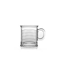 Bicchiere Conserve Moi con manico in vetro cl 32