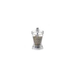 Macina erbe Zouk in acrilico trasparente cm 10