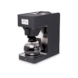 Macchina caffè Profiline Hendi in acciaio inox e polipropilene nero lt 1,8