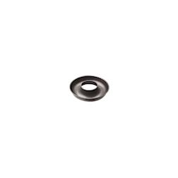 Stampo ciambella in alluminio antiaderente nero cm 12
