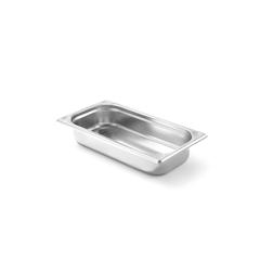 Gastronorm 1/3 in acciaio inox alta cm 6,5
