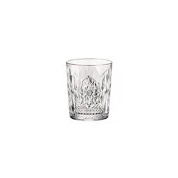 Bicchiere Stone Dof in vetro lavorato cl 39