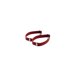 Fasce ferma maniche in elastico rosso