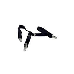 Bretelle regolabili in elastico nero