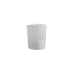 Cappello cuoco Tower in TNT bianco cm 23x28