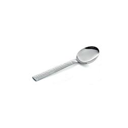 Cucchiaio tavola Marte in acciaio inox cm 20,7