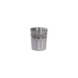 Bicchiere Radiant Cooler Platinum in vetro argento cl 35,5