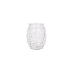 Bicchiere tiki Mask Bomb in vetro cl 58