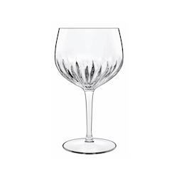 Calice Gin Tonic Spanish Mixology Luigi Bormioli in vetro decorato cl 80