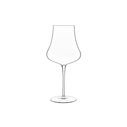 Calice Merlot vino rosso linea Tentazioni Luigi Bormioli in vetro cl 57