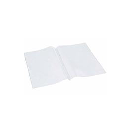 Busta per fogli menù A4 in plastica trasparente
