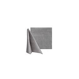 Tovagliolo Easy in cellulosa grigio fumo cm 25x25