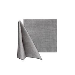 Tovagliolo Easy in cellulosa grigio fumo cm 40x40