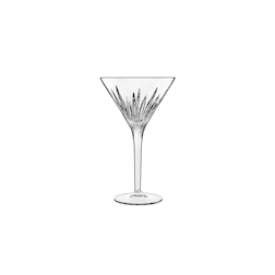 Coppa Martini Mixology Luigi Bormioli in vetro decorato cl 21,5
