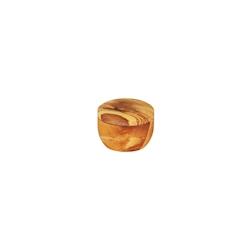 Porta spezie in legno d'ulivo naturale cm 5x7