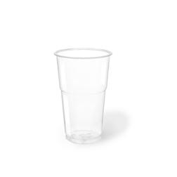Bicchieri Slim in pet trasparente cl 35