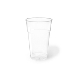 Bicchiere bibita monouso in PET trasparente cl 63